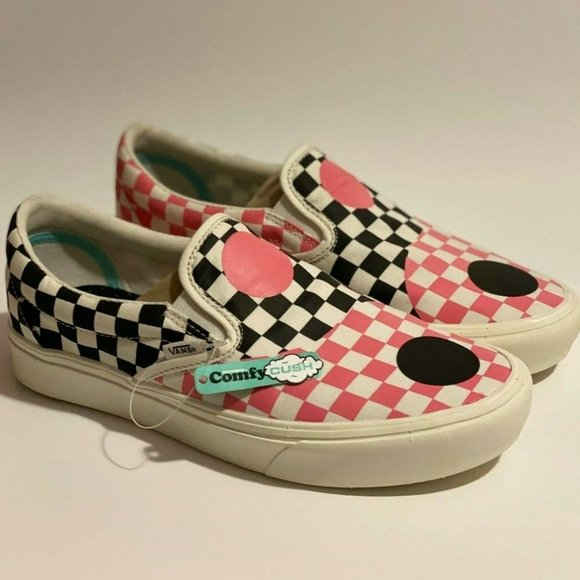 VANS Comfycush Slip-On 'Ying Yangs' Size 9M/10.5W